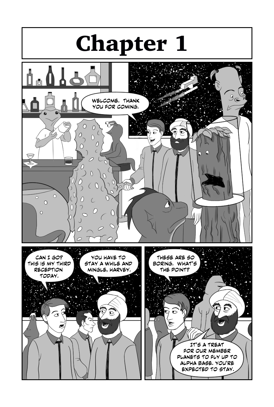 Tripp to the Stars Chapter 1 page 1