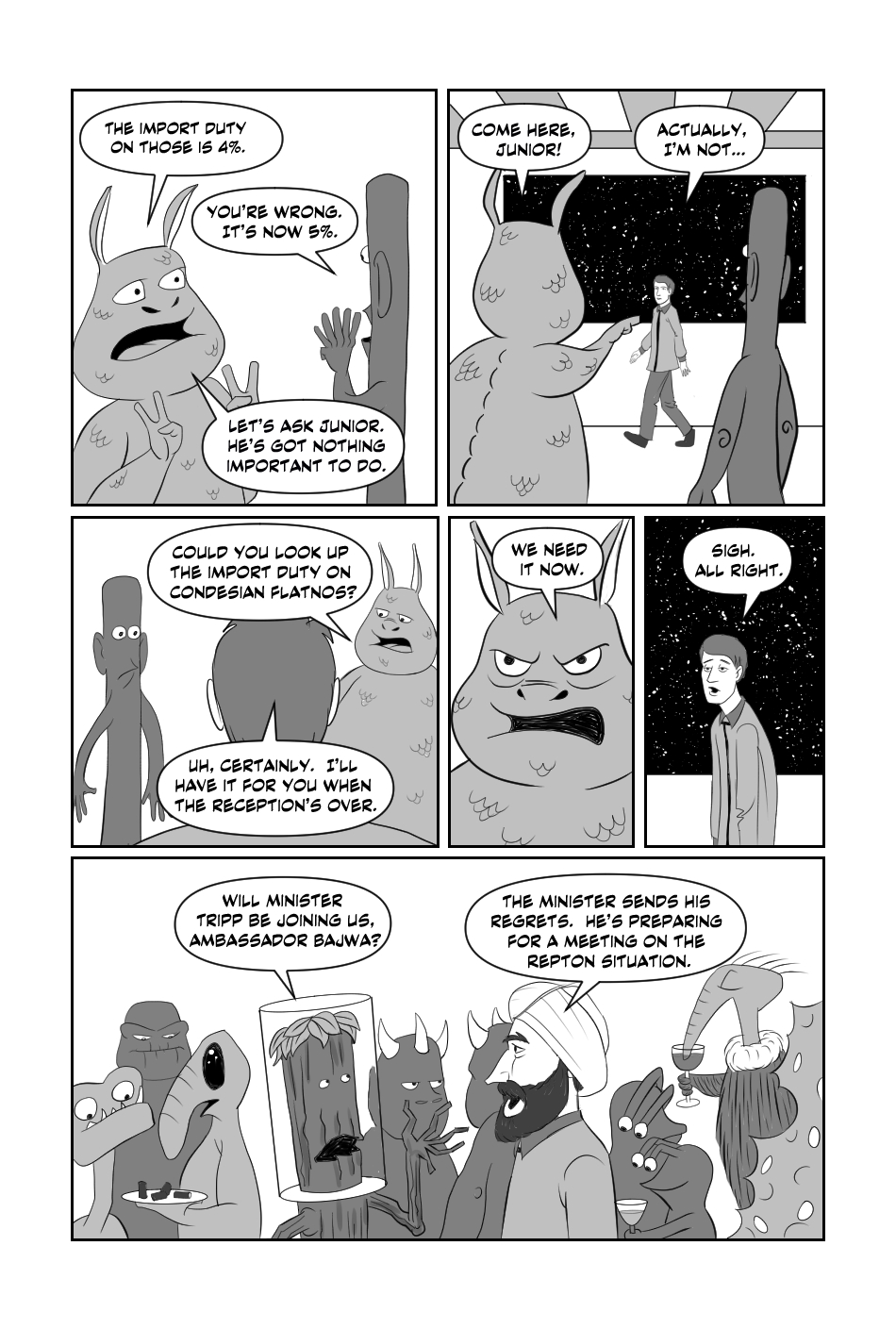 Tripp to the Stars Chapter 1 page 2