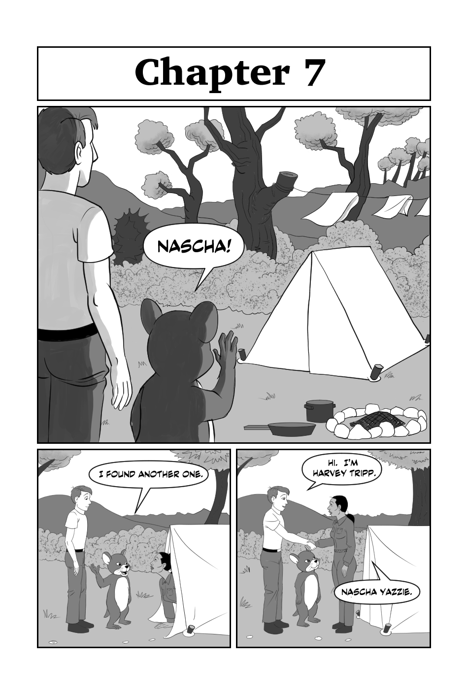 Tripp to the Stars Chapter 7 page 1