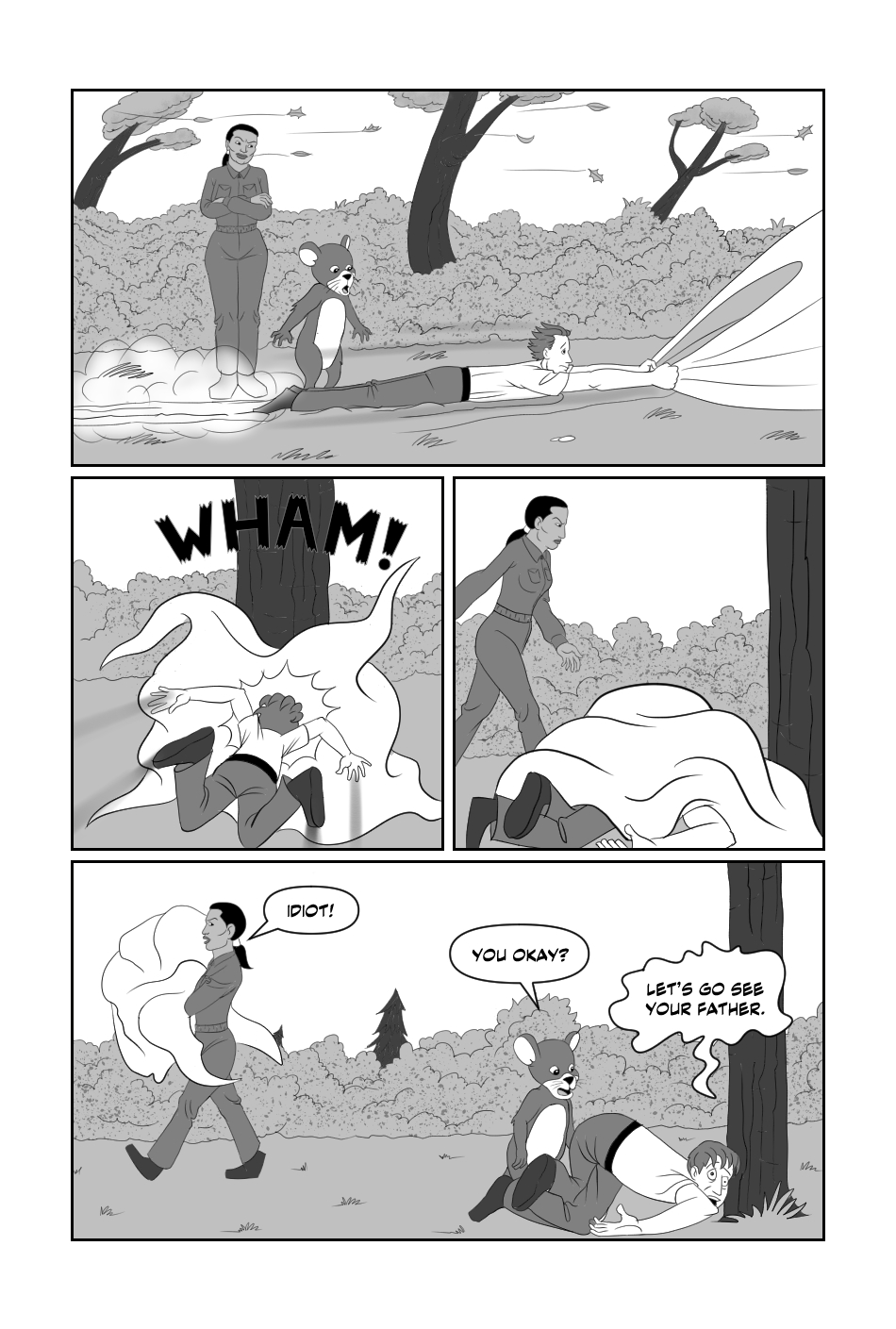 Tripp to the Stars Chapter 7 page 9