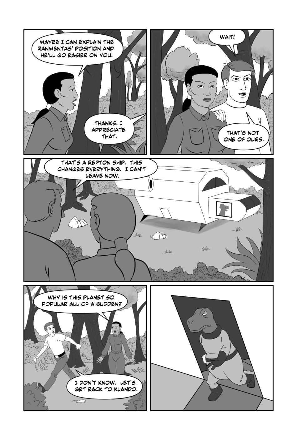 Tripp to the Stars Chapter 9 page 4